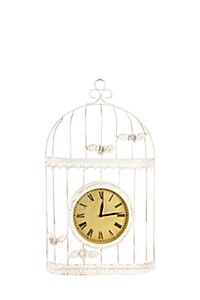 BIRDCAGE CLOCK Bird Cage, Clock, Home Decor, Watch, Decoration Home, Room Decor, Clocks, Home Interior Design, Birdcages
