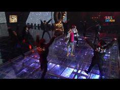 SBS [2013가요대전] - 태양&G-Dragon(Bigbang) '새벽한시+삐딱하게+링가링가+BAD BOY' - YouTube