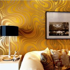 Contemporary Wallpaper Art Deco Sprinkling Gold Abstraction Wallpaper Wall Covering Non-woven Fabric Wall Art 2019 - £ Wallpaper Art Deco, 3d Brick Wallpaper, 3d Wallpaper Roll, Cheap Wallpaper, Striped Wallpaper, Home Wallpaper, Black Wallpaper, Fabric Wallpaper, Beautiful Wallpaper