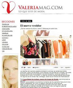 Las claves para la primavera-verano, con mis tips para identificar las prendas must, en @ValeriaMazzaMag  http://www.valeriamag.com/notas/151794-el-nuevo-vestidor  #LaImagenImporta