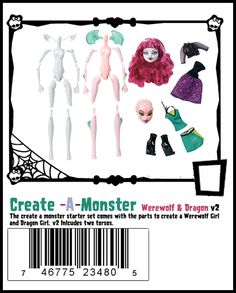 Monster High Doll Checklist