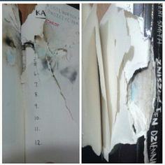 Podesłała Bella ona i chłopak #zniszcztendziennikwszedzie #zniszcztendziennik #kerismith #wreckthisjournal #book #ksiazka #KreatywnaDestrukcja #DIY