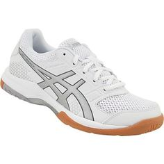 Asics Gel Rocket 8 Volleyball Shoes - Womens Black Black White