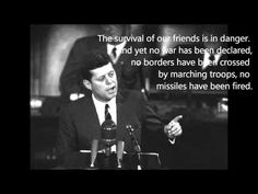 Flashback Friday: JFK Secret Societies Speech (full version)   BY THE BLOOD OF THE LAMB -- Dec 12, 2014 -- This is an incredible speech that needs to be heard again. -Watchman73
