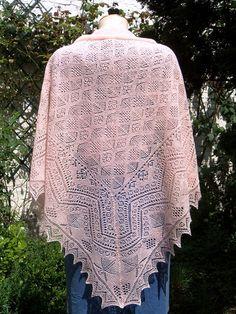 Ravelry: Shetland Lace Shawl pattern by Hazel Carter Shawl Patterns, Lace Patterns, Knitting Patterns, Knitting Projects, Knit Or Crochet, Lace Knitting, Knitted Shawls, Lace Shawls, Lace Scarf
