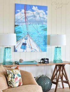 """Decor Praia - #dicas de decoração #azul """"estilo praia"""": para casas de praia  e para quem ama o mar e quer trazer esse clima delicioso para casa!"""