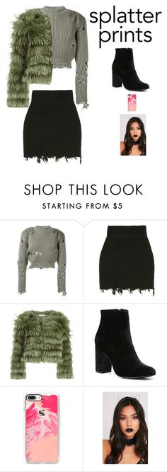 """""""SPLATTER PRINTS"""" by sofiy112 ❤ liked on Polyvore featuring adidas Originals, Alice + Olivia, Witchery and Casetify"""