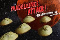 Madeleines de Mars. Miam non-identifié, vegan et sans gluten