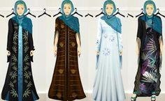 Abaya sketch