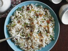 Carolina Gold Rice Salad from Around the Southern Table. The citrus dressing makes my mouth water!