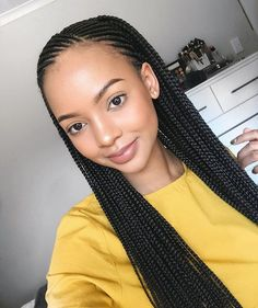 Cornrows And Braids Idea 47 of the most inspired cornrow hairstyles for 2020 Cornrows And Braids. Here is Cornrows And Braids Idea for you. Cornrows And Braids 47 of the most inspired cornrow hairstyles for Cornrows And B. Cool Braid Hairstyles, African Braids Hairstyles, My Hairstyle, Fancy Hairstyles, Black Girls Hairstyles, Protective Hairstyles, Protective Styles, Corn Row Hairstyles, African Braids Styles