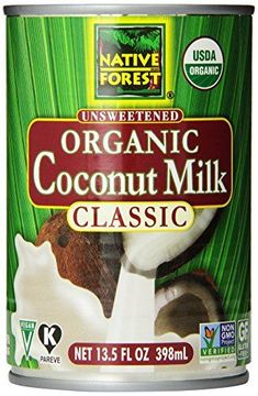 ** Special offer just for you.: Native Forest Organic Classic Coconut Milk, Cans (Count of at Baking Ingredients. Organic Coconut Milk, Coconut Cream, Coconut Oil, Coconut Shampoo, Macros, Honey Lime Dressing, Homemade Eggnog, Coconut Drinks, Coconut Smoothie