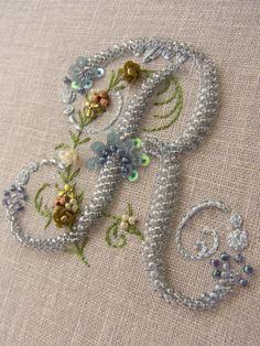 モノグラムの刺繍バッグの画像:KeiFerida