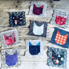Im dropping these in the mail today. Ive hardly had time to sew lately but I really wanted to contribute toward @christypughs kitty quilts. Her sweet daughter died unexpectedly two months ago and shes making a quilt for every child in her daughters class. Such an incredible project. If you want to help the pattern is free and you can get the info from her IG feed. These blocks took about 2 hours to make start to finish so theyre pretty quick and I know they will be appreciated…