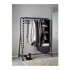 IKEA - TURBO, Penjador int./ext., Adequat per a la instal·lació tant en interiors com en exteriors.Com que les peces van encaixades, és fàcil de muntarInclou rodes que faciliten el seu desplaçament.