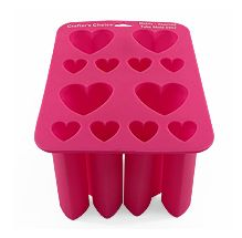 Heart Tube Silicone Mold (to make imbeds for loaf molds)