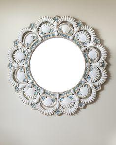 Ocean's Echo Mirror – Marjorie Stafford Design