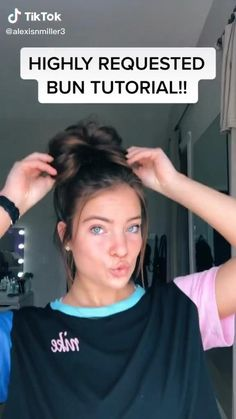 Cute Hairstyles For Teens, Easy Hairstyles For Long Hair, Teen Hairstyles, Party Hairstyles, Headband Hairstyles, Hair Up Styles, Medium Hair Styles, Aesthetic Hair, Aesthetic Makeup