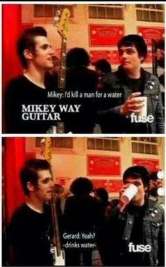 Mikey way f***** guitar