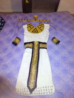 Disfraz niña egipcia