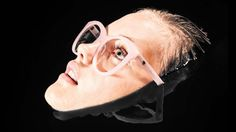 Valley eyewear optical ... The KARAAN FRAME in baby pink handcrafted acetate