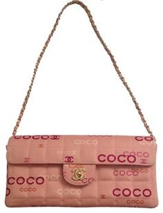 b47fba06b43f Chanel Chocolate Bar Quilted Canvas Shoulder Bag. Get one of the hottest  styles of the. Tradesy