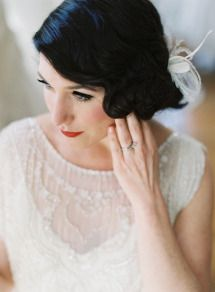 DIY wedding hair: Romantic updo edition