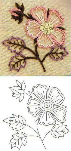 simple and beautiful embroidery