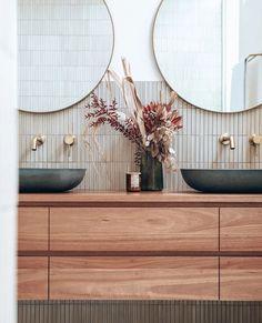 Beautiful Bathrooms, Bathroom Interior Design, Bathroom Inspiration, Bathroom Inspo, Bathroom Styling, New Homes, House Design, House Styles, Home Decor