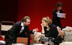 Ralph Fiennes, Janet McTeer, and Tamsin Grieg - West End Production.
