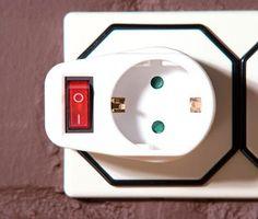 Zwischensteckdose schaltbar mit Schalter 3er Set zum Strom sparen