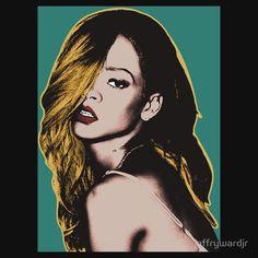 Rihanna Pop Art #rihanna #antiworldtour #anti #neededme #rihannaanddrake