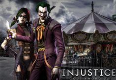 Injustice: Joker x Harley Wallpaper by ~NerdyOwl299 on deviantART