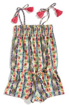 PILYQ 'Emily' Romper (Little Girls & Big Girls) available at #Nordstrom