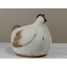 poule déco céramique