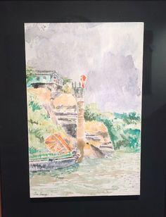 Puerto Nariño Acuarela sobre gesso (15 cm x 23 cm)Cómpralo en #MambeShop por $320.000