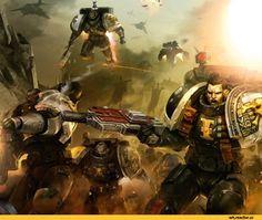 Warhammer-40000-фэндомы-Eldar-Tau-Empire-3280298.jpeg (705×581)