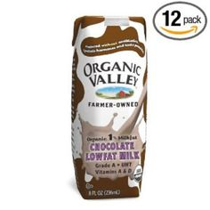 I'm learning all about Organic Valley Lowfat Chocolate Milk 1% Milkfat Aseptic Cartons at @Influenster!