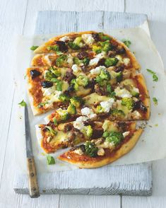 Ricotta, Mozzarella, Vegetable Pizza, Menu, Vegetables, Food, Menu Board Design, Vegetable Recipes, Eten