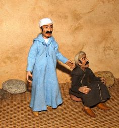 AligraDolls: Personajes de Marruecos