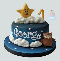 Twinkle Twinkle Little Star cake Boys First Birthday Party Ideas, First Birthday Cakes, 1st Boy Birthday, Birthday Party Themes, Star Cakes, Twinkle Twinkle Little Star, Baby Cakes, Cakes For Boys, Cake Cookies