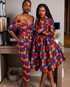 55 classy Latest Trending Ankara Gown Styles that are Classic For Everyone Long Ankara Dresses, African Wear Dresses, Ankara Gown Styles, Ankara Gowns, African Clothes, Dress Styles, Beautiful Ankara Styles, Trendy Ankara Styles, Mode Wax