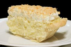 """Recipe for Coconut Cream Pie with Benefits - Coconut is highly nutritious and rich in fiber, vitamins, and minerals. It is classified as a """"functional food"""" because it provides many health benefits beyond its nutritional content."""