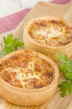 Quiches, Empanadas, Cooking Tips, Cooking Recipes, Quiche Recipes, Diy Food, No Cook Meals, Food For Thought, Food Hacks