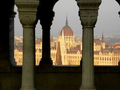 Budapest: Parlament from the Castle