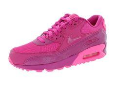 new concept ea509 6a679 Nike Women s Air Max 90 Prem Fireberry Pink Pow Running Shoe 7.5 Women US
