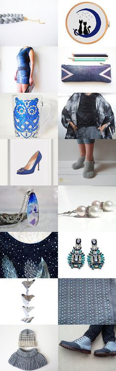 Blue mix by Karin on Etsy--Pinned+with+TreasuryPin.com