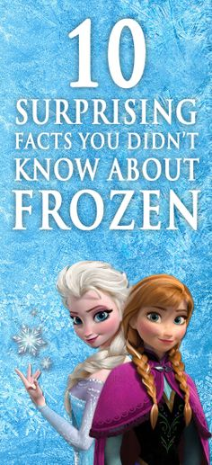 Impress your kids with these! The last one blew my mind :) Disney Facts, Disney S, Disney Frozen, Disney Magic, Disney Love, Frozen Facts, Facts You Didnt Know, Flynn Rider, Number 8
