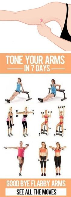 10 Best Excercises for Flabby Arms