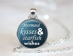 Mermaid Kisses Starfish Wishes Necklace Fantasy by EmpireJune